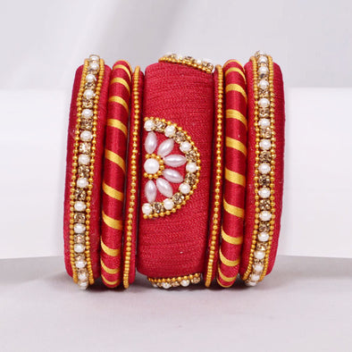 Red & Golden Bangles