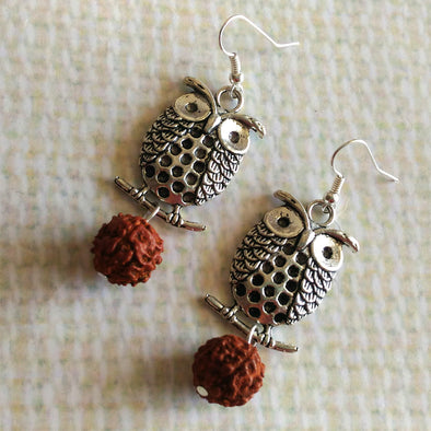 Big Owl Earrings