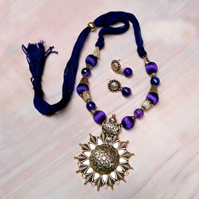 Violet Antique Neckset