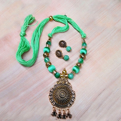 Light Green Antique Neckset