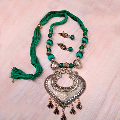 Green Antique Neckset