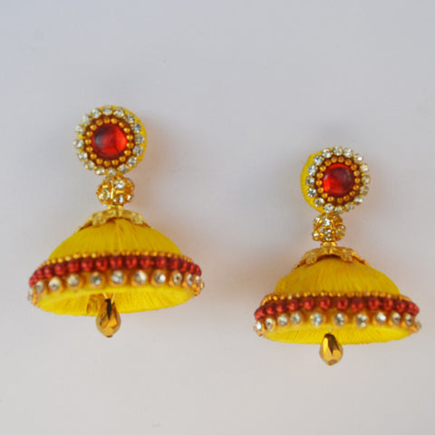 Yellow Jhumka 1