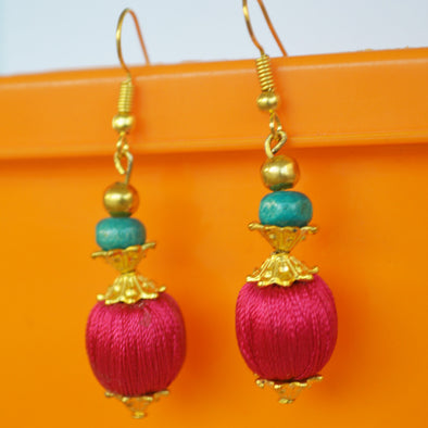 Bead Hook Earring 1