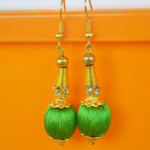 Bead Hook Earring 2