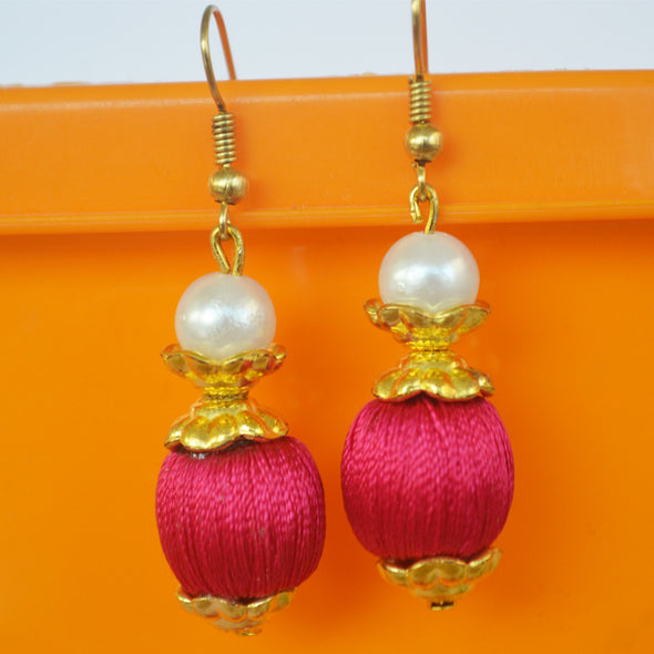 Bead Hook Earring
