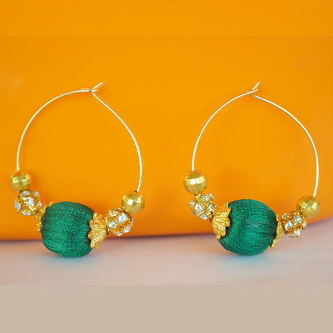 Green Loop Jhumka 1