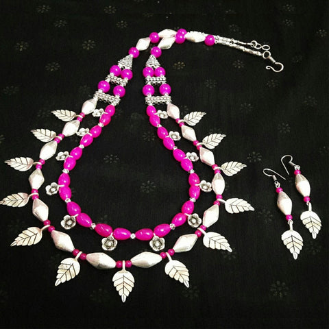 Dholki Leaf Statement Necklace