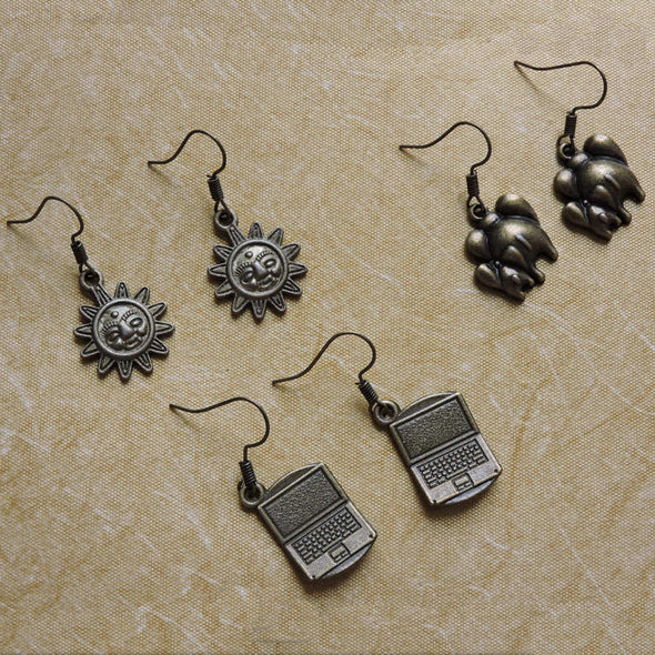 Charm Earrings - Combo