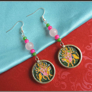 Pink Devi Earrings