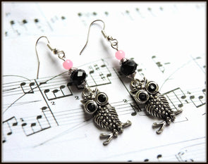 Hoot Series - Owl 20 Earrings