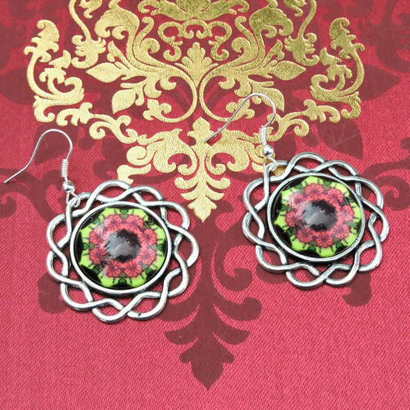 Designer Cabochon Earrings 06