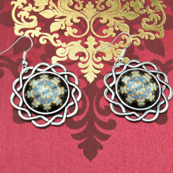 Designer Cabochon Earrings 07