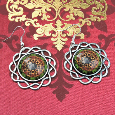 Designer Cabochon Earrings 09