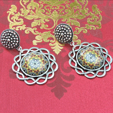 Designer Cabochon Earrings 10
