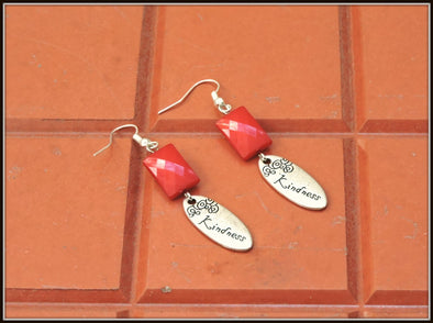 Kindness Earrings - Red