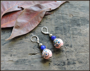 Porcelain Bead Earrings 10