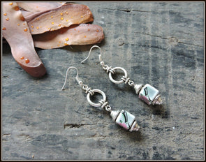 Porcelain Bead Earrings 19