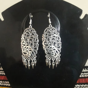 German Silver Earrings 1