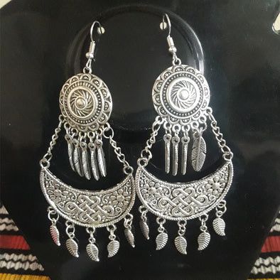 German Silver Earrings 2