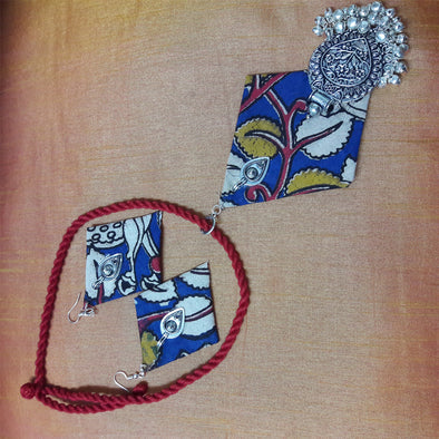 Ethnic Kalamkari Necklace