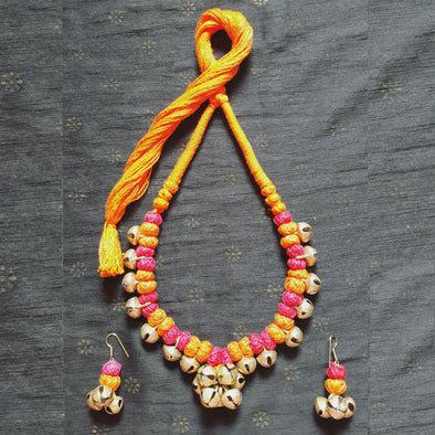 Ghungroo Pendant Necklace 1