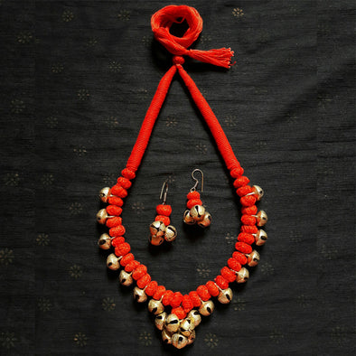 Ghungroo Pendant Necklace