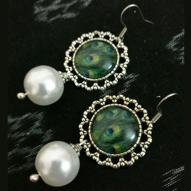 Hand Painted Hanging Pearl 1