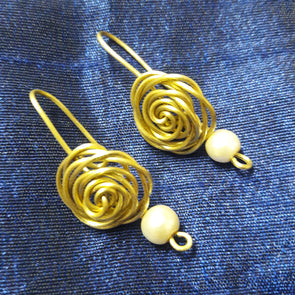 Handmade Wired Earring 1