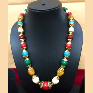 Multi Colour Beads Necklace