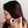Banjara Collection - Red Sensation Ring