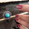 Banjara Collection - Blue with Green Ring