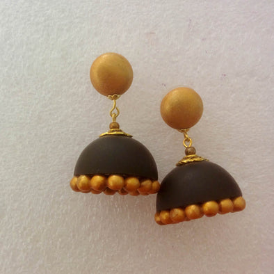Black Classic Earrings