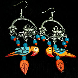 Twittering Birds Earrings 1