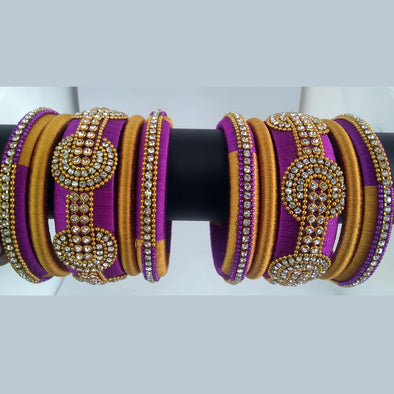Silk Thread Bangles 10