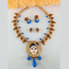 Terracotta Kerala Indulekha Jewelry Set