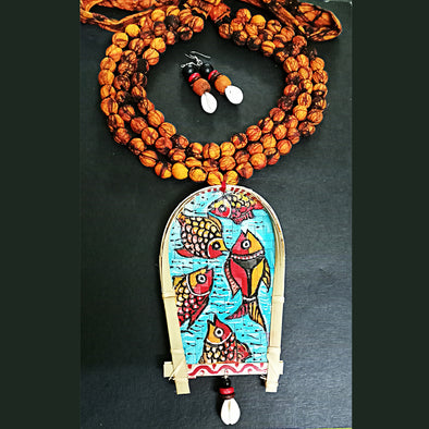 Patachitra Neckpiece
