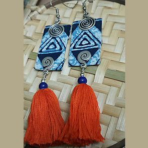 Indigo Magic Earrings