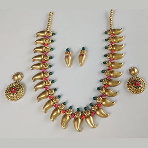 Terracotta Mango Jewellery Set