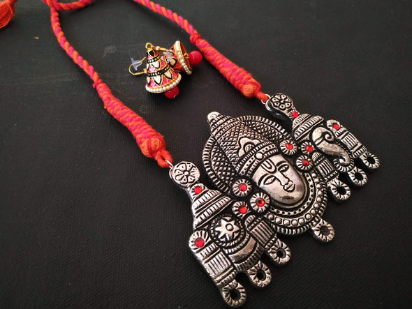 Lord Balaji pendant set