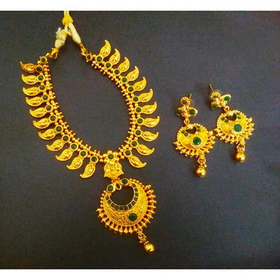 Traditional Mango Necklace Set