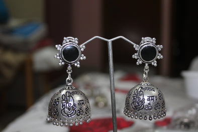 Special Scripted Jhumkas
