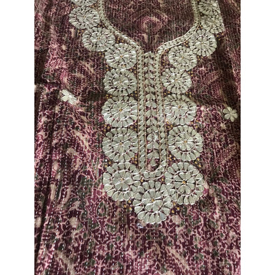 Hand Block Print Suit Piece (unstiched)