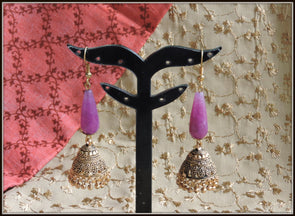 Golden jhumka 01
