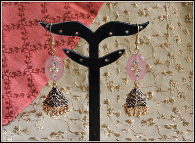 Golden jhumka 03