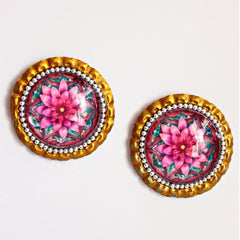 Kamala Mandala Earrings