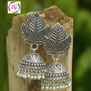 Cute Leaf Jhumka