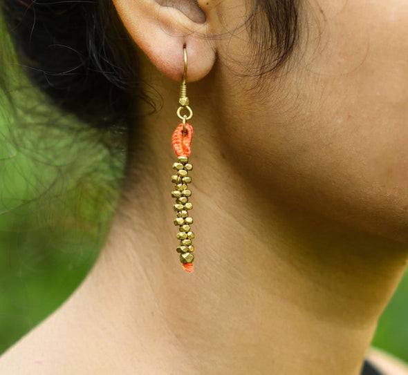 Dokra Earring Basic 3