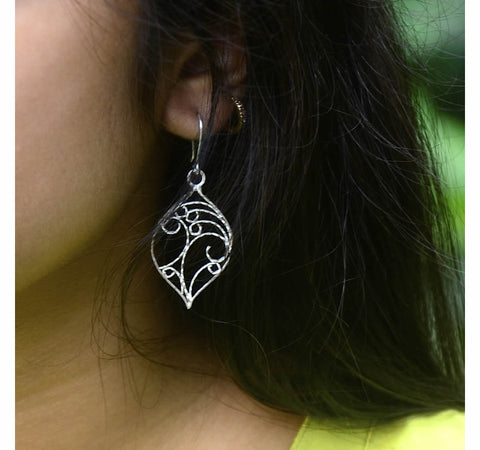 Silver Filigree Earrings 2