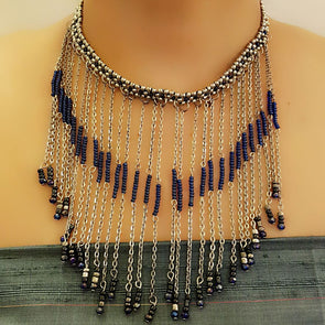 The Bead Story - Blue Chic Necklace