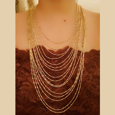 The Bead Story - Multi layered Necklace